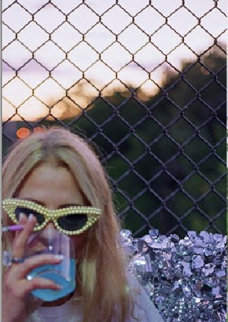 Oyster Magazine September 2013 features Mercura NYC yellow pearl sunnies styled by Petra Collins