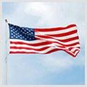 Made in Little Rock, Arkansas, USA: American Flags
