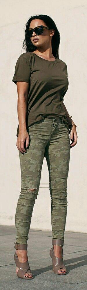 Shades Of Khaki / Fashion By Johanna Olsson