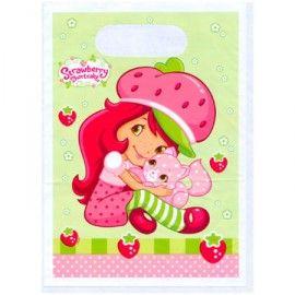 PP Strawberry Shortcake cadeau zakjes   Strawberry Shortcake feest   Helena`s kinderfeesten