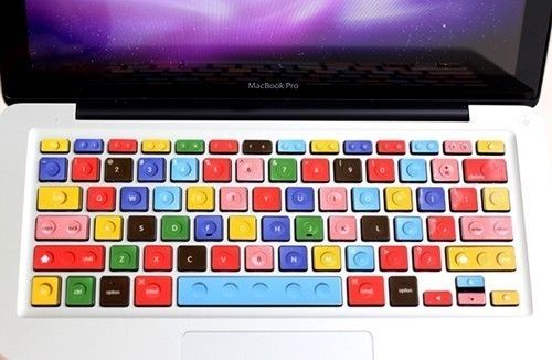 Lego Style MacBook Keyboard Decor Decal Sticker
