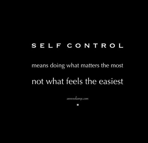 Self Control Quotes: 8 Best Self-Control Quotes And Sayings Images On Pinterest