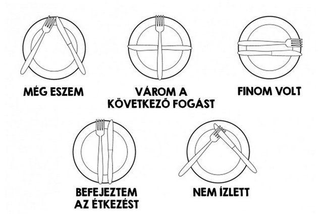Hogyan jelezzünk evőeszközünkkel a pincérnek? Az éttermi etikett alapjait gyűjtöttük most össze!