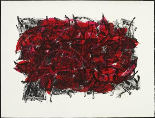 Leaves III 1967 - Jean-Paul Riopelle