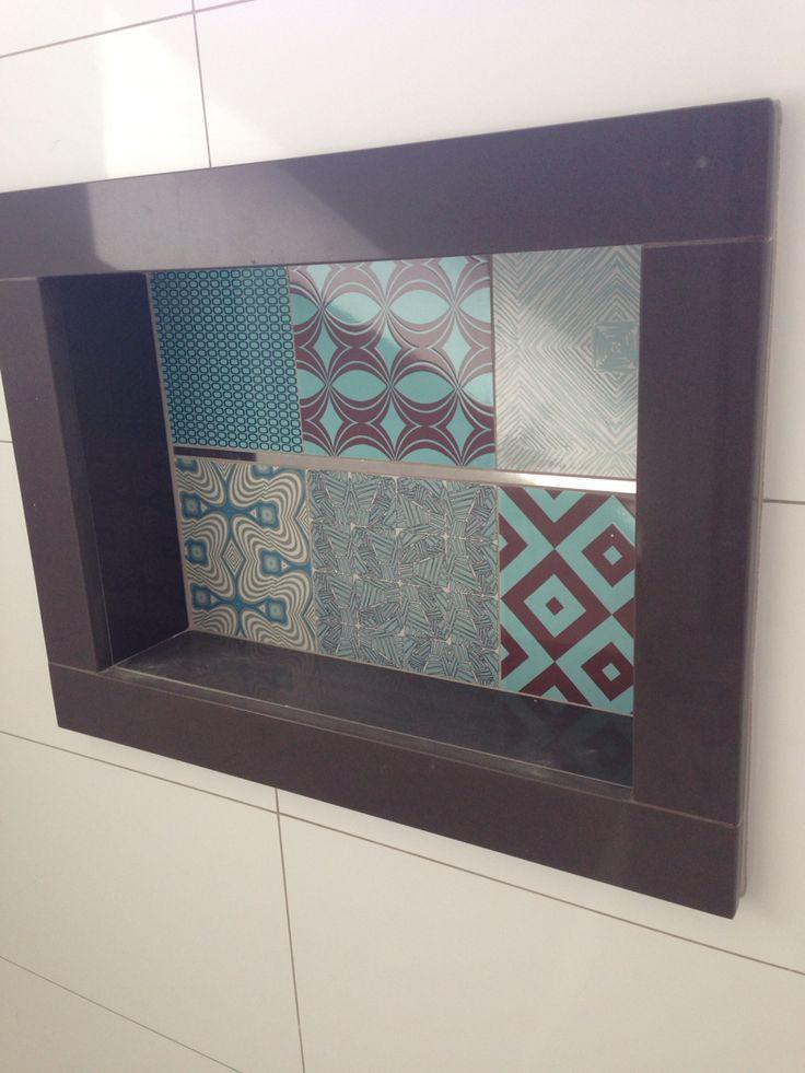 +25 melhores ideias sobre Granito Marrom Absoluto no Pinterest  Marrom absol -> Nicho Banheiro Portobello