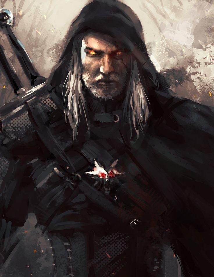 Geralt of Rivia by leopinheiro.deviantart.com on @deviantART