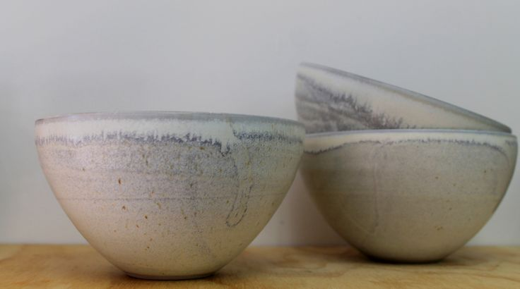 Honey glaze soup or cereal bowls from Hawkes Bay potter Kim Morgan.  Hand thrown in his studio in the Tuki Tuki valley close to Havelock North.