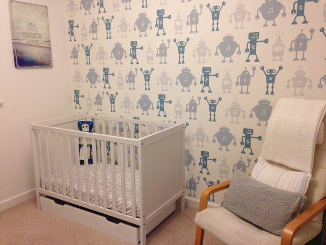 Custom made wallpaper by Mustard Solutions Ltd, www.mustardsolutions.co.uk