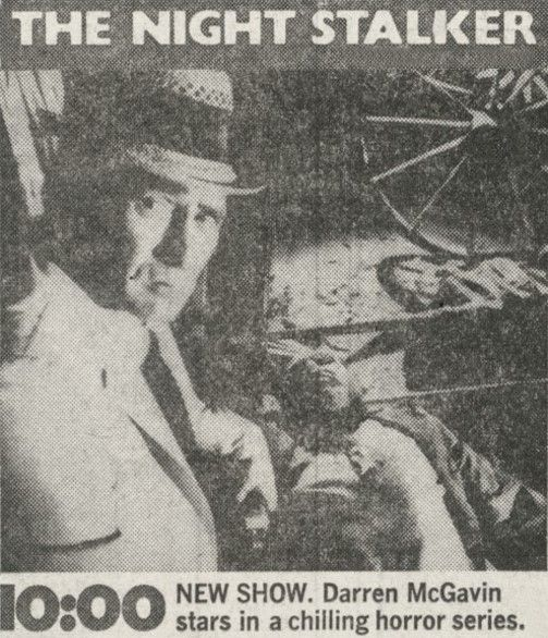 Kolchak: The Night Stalker TV Series / 1974 - 1975 (ABC)
