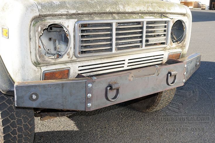 Winch Bumper - Extreme Duty - International Scout Parts - Scout II Parts - Your Authorized IH Lightline Dealer