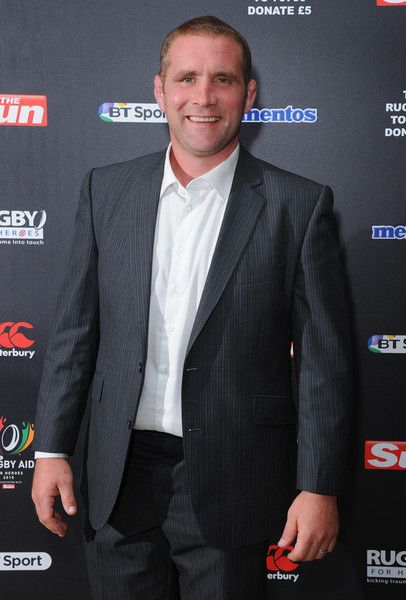 Phil Vickery Photos Photos - Phil Vickery attends the after party for Rugby Aid 2015 at Twickenham Stadium on September 4, 2015 in London, England. - Rugby Aid 2015 - After Party Arrivals