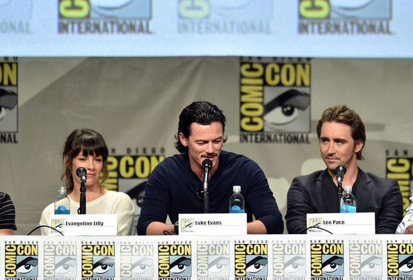 Lee Pace Photos  - Legendary Pictures Preview And Panel - Comic-Con International 2014 - Zimbio
