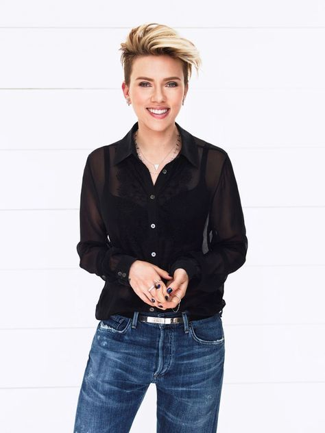 Scarlett Johansson by John Russo for Parade Magazine April 2015