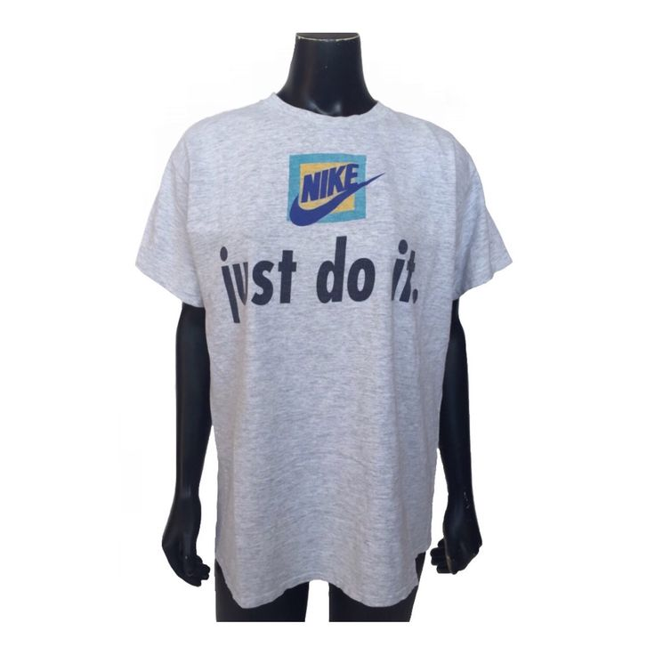 Vintage Nike Just Do It Graphic T Shirt Made in America