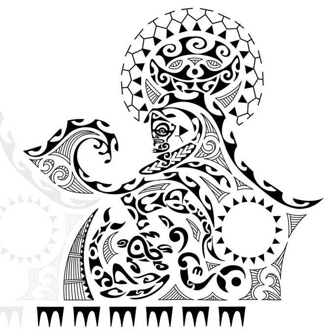 maori tattoo drawings   Rascunho de Tattoo Maori.
