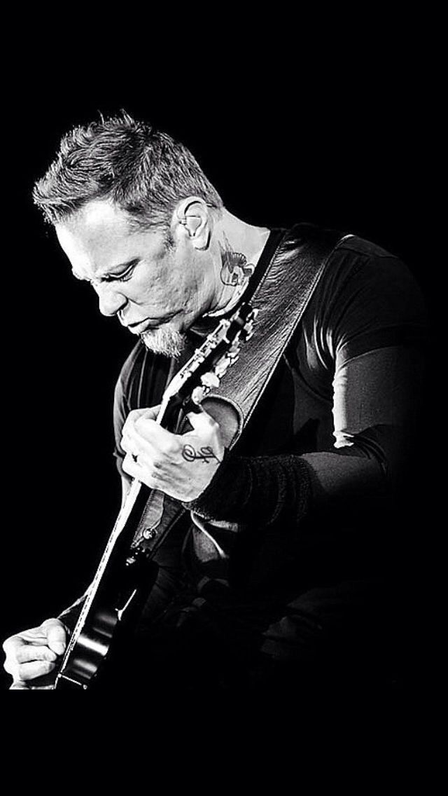 James Hetfield I was on stage with him at the veterans day concert in DC!!!