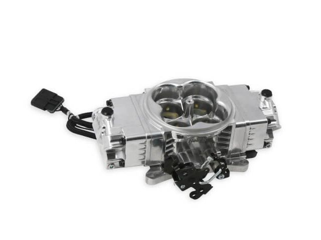 Holley+EFI+TERMINATOR+EFI+2x4+Throttle+Body,+Polished+[534
