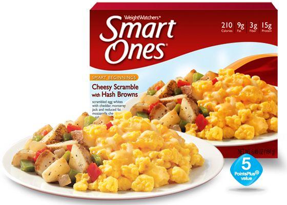 Cheesy Scramble with Hashbrowns - Weight Watchers® Smart Ones® #ScavengerHuntSweeps