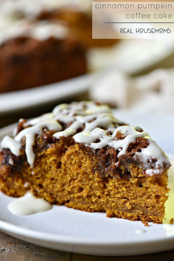 Cinnamon Pumpkin Coffee Cake
