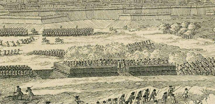 Gravat d'en Rigaud: Setge de Barcelona 1713-1714