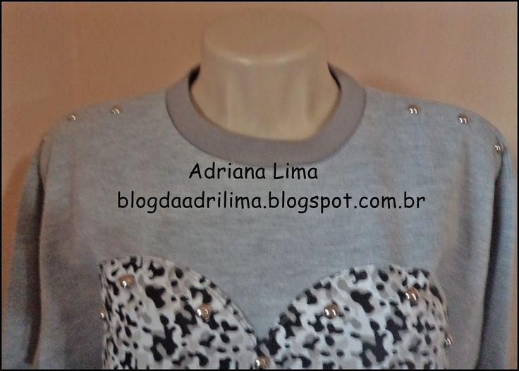 moletom customizado http://blogdaadrilima.blogspot.com.br/