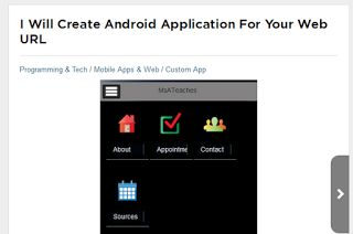 eXponential Horizon: Get Android App for your Business