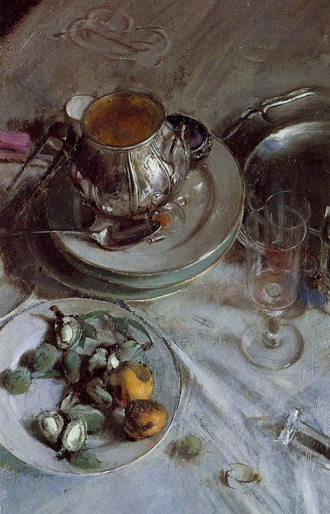Giovanni Boldini:  Detail of Corner of Painter's Table (1890)