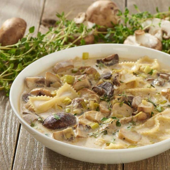 Zupa Ze Swiezych Grzybow Przepis Zobacz Na Przepisy Pl Recipe Food Stuffed Mushrooms Soup