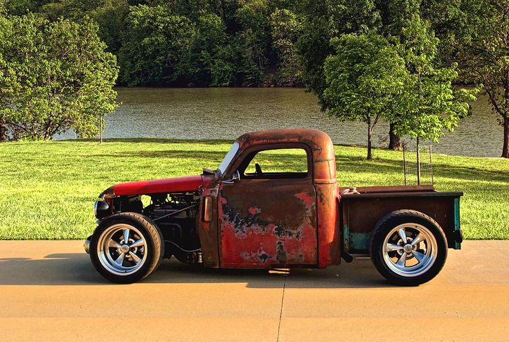 chevy rat rod trucks | 1950 Chevy Truck Rat Rod For Sale