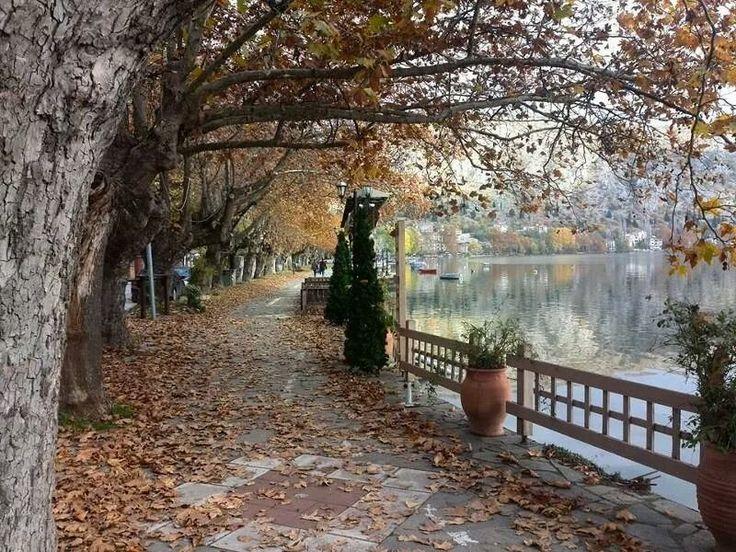 Kastoria by George Nikitidis via skaikairos.gr.Macedonia. Greece!!!