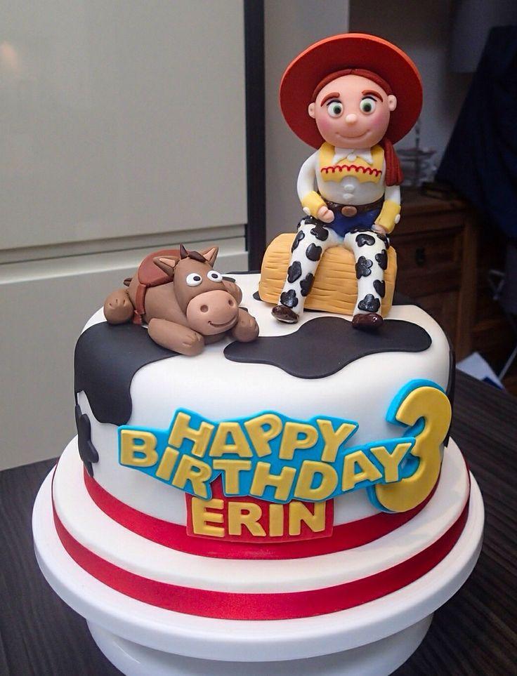 Toy Story Cake Jessie My Celebration Cakes Pinterest