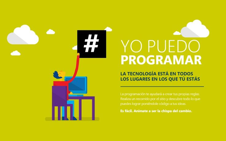 Campaña #YoPuedoProgramar del 6 al 10 de octubre en diversos países de América Latina - http://plenilunia.com/tecnologia/campana-yopuedoprogramar-del-6-al-10-de-octubre-en-diversos-paises-de-america-latina/30779/