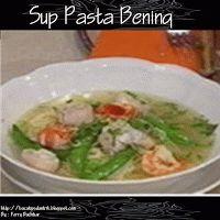 Sup Pasta Bening