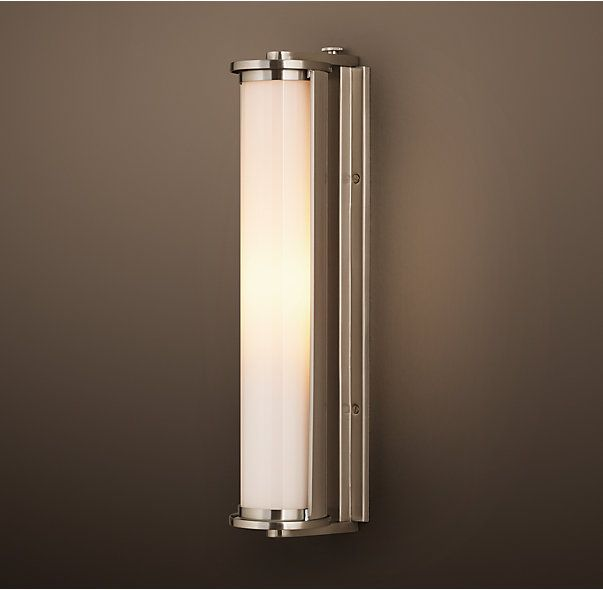 Bathroom Lighting Restoration Hardware 34 best wellesley - 3rd floor bath lighting images on pinterest