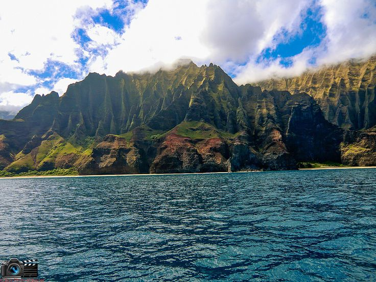 Napali Coast Kauaii Hawaii