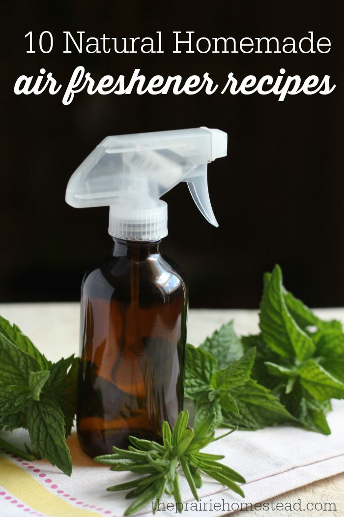 homemade air freshener recipes