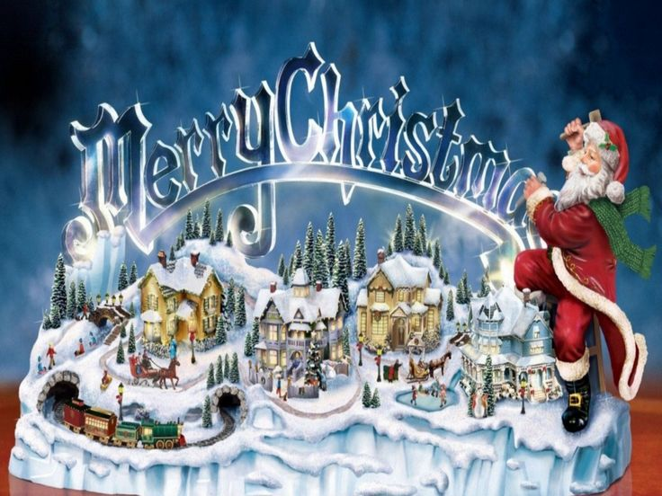 Thomas Kinkade Christmas Free Thomas Kinkade Christmas Screensavers 113407 Wallpapers Merry