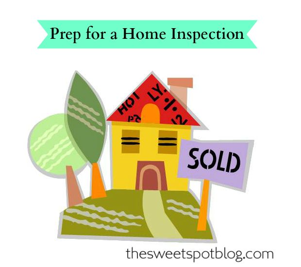 How to Sell House Fast!: Home Inspection by The Sweet Spot Blog #diy #sellhouse #staging #decor #makeover
