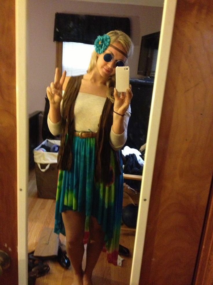 Hippie Festive Diy Halloween Costume Decade Day  sc 1 st  Meningrey & Diy Hippie Costumes - Meningrey