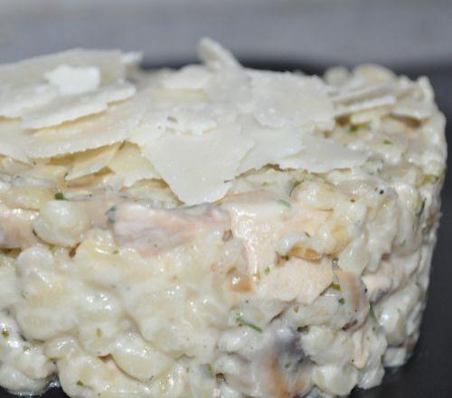750 grammes vous propose cette recette de cuisine : Risotto dEbly au poulet et champignons. Recette notée 3.9/5 par 10 votants