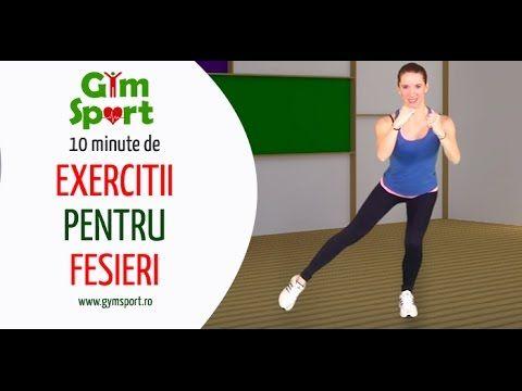 Exercitii pentru fesieri - VIDEO