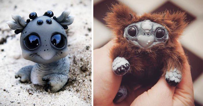 Kasia a Jacek Anyszkiewicz ručne vyrábajú originálne umelecké bábiky Katyushky akoby boli z iného sveta. Handmade hračky, fantastické stvorenia, umenie