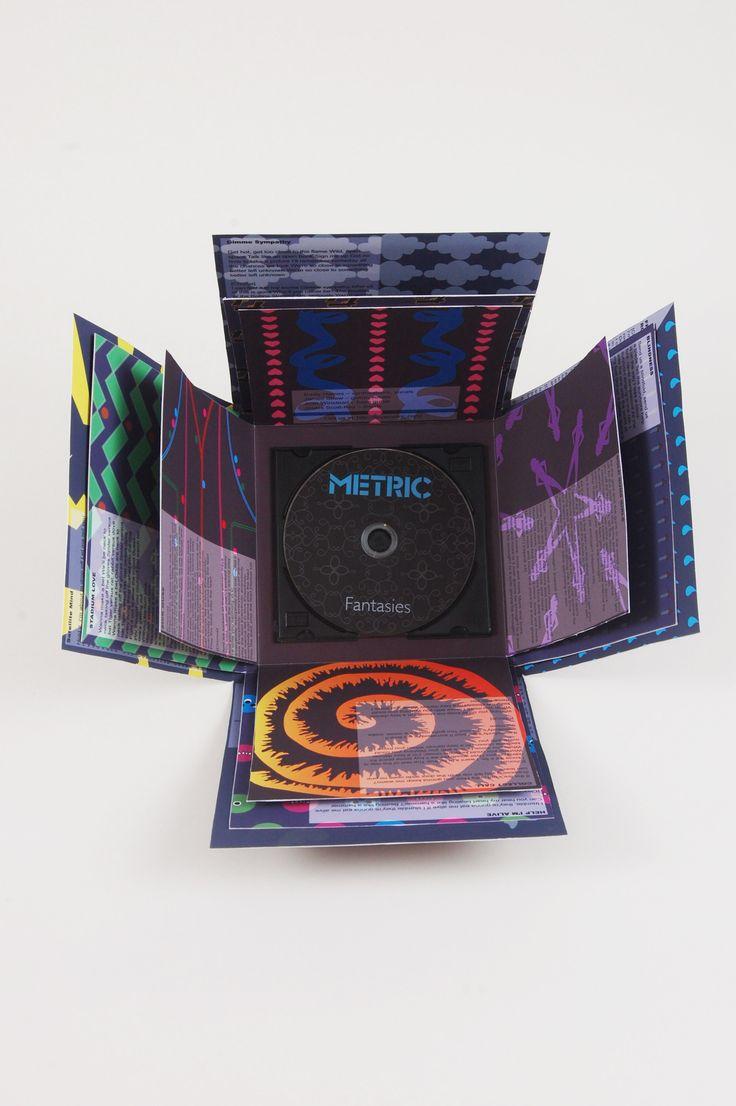 Metric CD packaging (lid off)