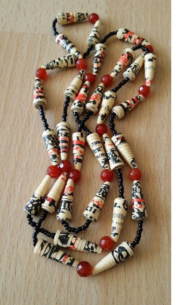 Необычное применение обычного материала: 75 оригинальных украшений из бумаги - Ярмарка Мастеров - ручная работа, handmade