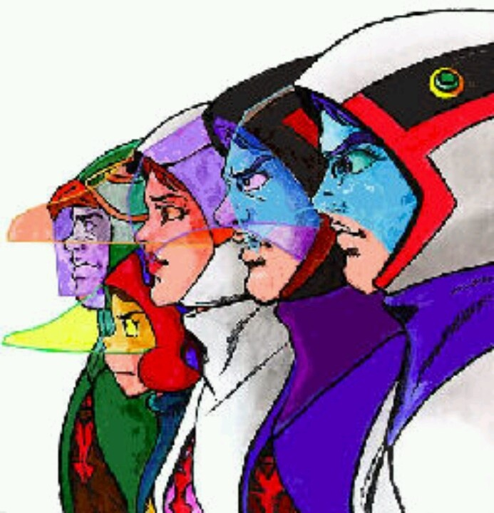 G Force Cartoon Characters Names : S cartoon battle of the planets g force adultcartoon