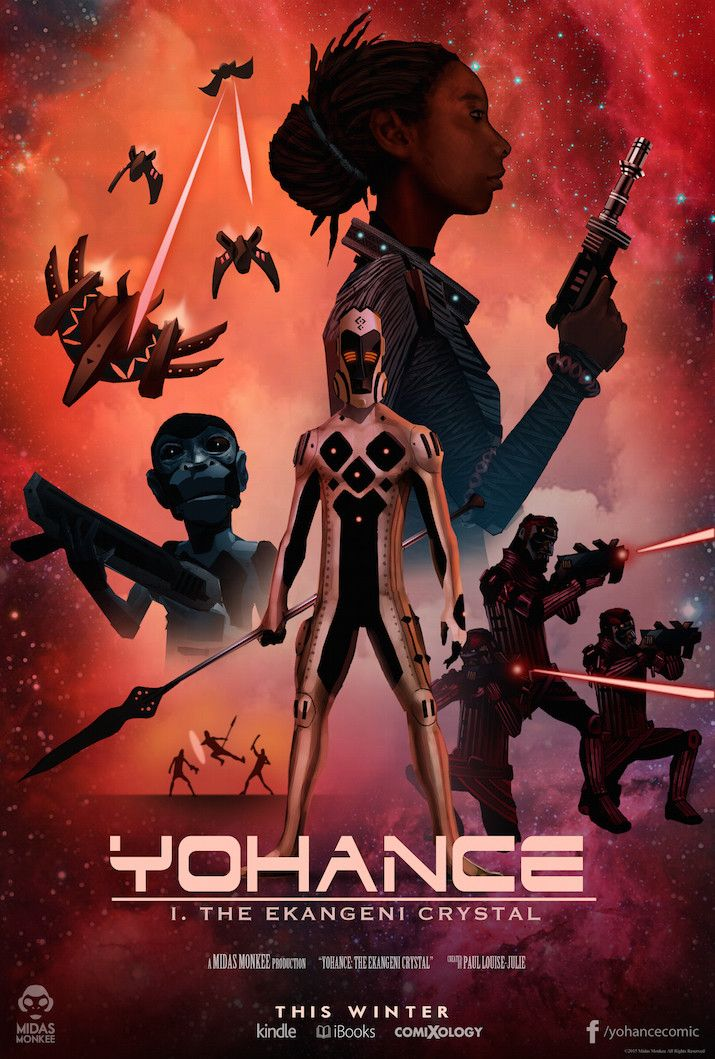 Hey 'Star Wars' Fans, There's An African-Inspired Futuristic Space Opera In The Works Okayafrica.