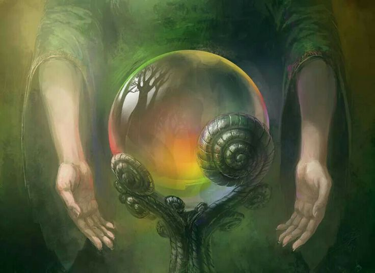 Crystal Ball | Fantasy Art | Pinterest | Posts, Crystal ...
