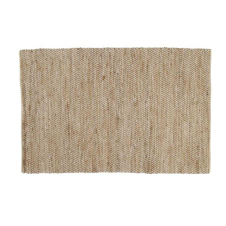Tapis en coton et jute 160 x 230 cm BARCELONE Maison du monde