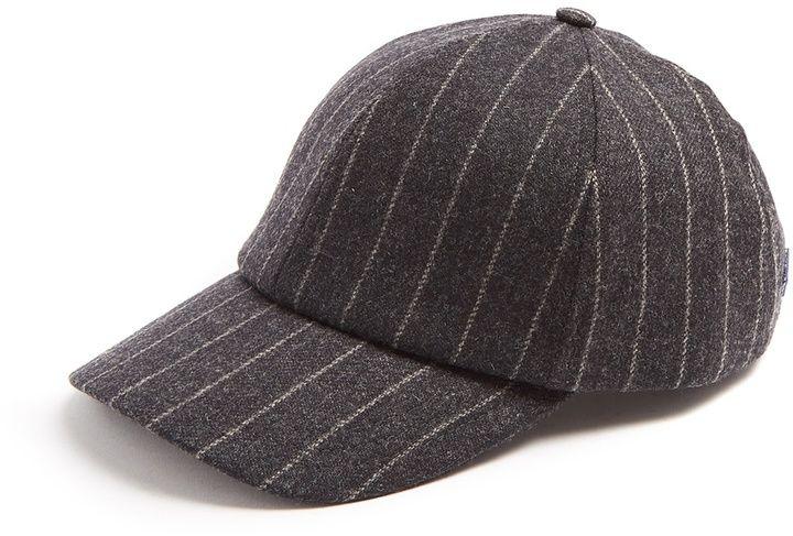 7579c1f1ac7 Larose Moon striped wool and cashmere-blend baseball cap