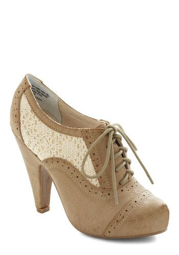 Whirlwind Traveler Bootie in Sepia, #ModCloth
